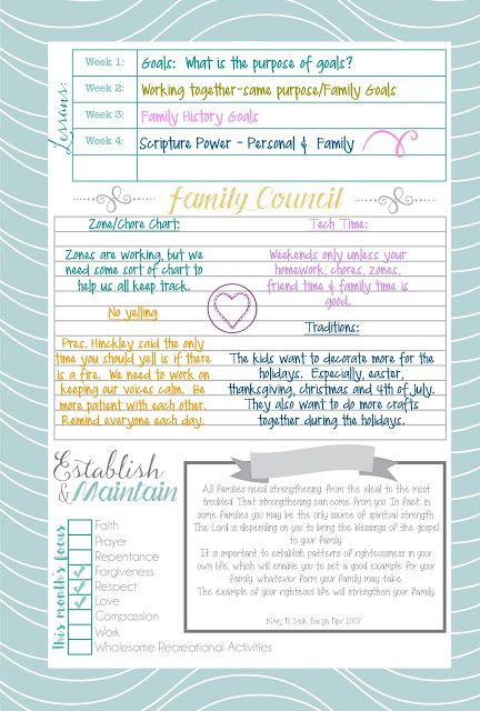 Mormon Mom Planners - Monthly Planner/Weekly Planner: Planner Overview