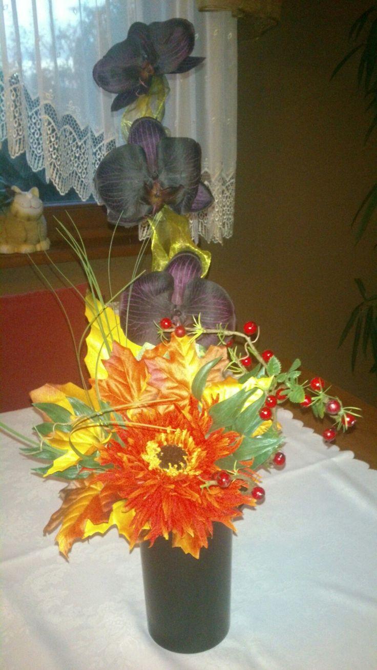 Stroik do wazonu - Wszystkich Świętych