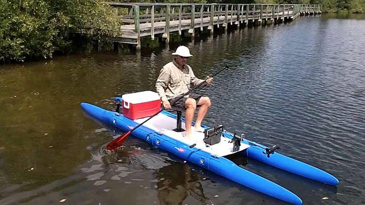 Expandacraft fishing catamaran