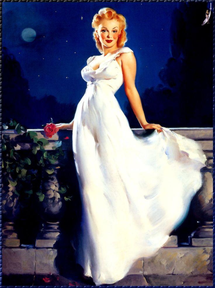 """""""Dream Girl""""  1945 Elvgren"""