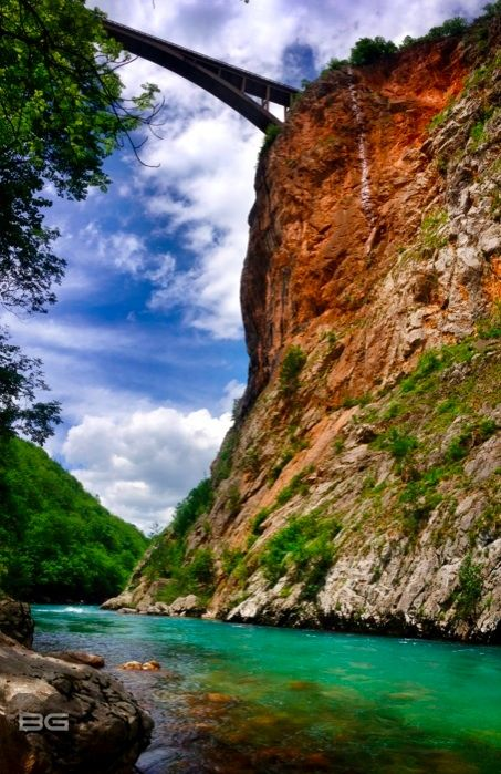 Tara River Canyon, Durmitor National Park, Montenegro  - Photo © @The Blonde Gypsy