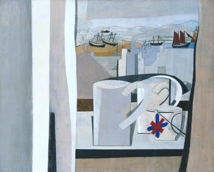 Ben Nicholson OM '1943-45 (St Ives, Cornwall)', 1943–5 © Angela Verren Taunt 2016. All rights reserved, DACS