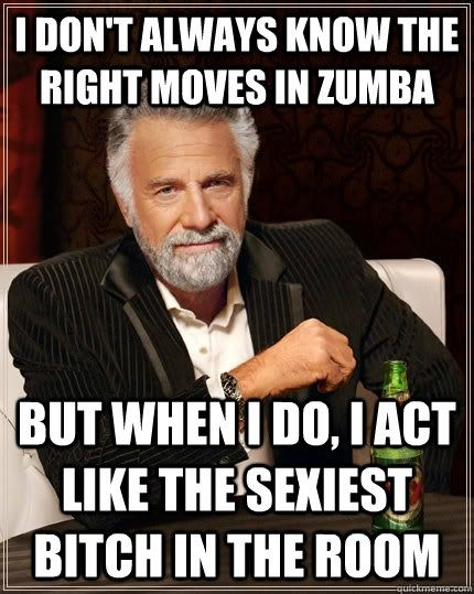 the right moves in Zumba