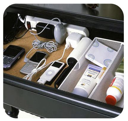 1000 Images About Hiding Clutter On Pinterest Charging