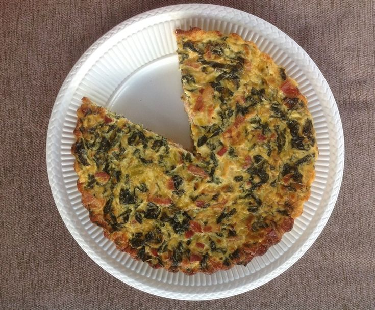 INGREDIENTS 1 teaspoon olive oil 1 large leek, sliced 1 bunch silverbeet 4 rashers of bacon, sliced thinly 1 1/2 cups grated cheese (sharp cheddar works well) 4 eggs 1 cup milk Salt Pepper METHOD P…