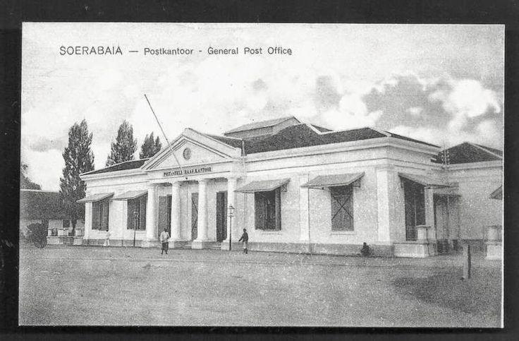 General Post Office. Surabaya 1910