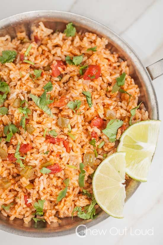 Best Easy Mexican Rice - Chew Out Loud