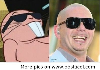 Mole Rat From Kim Possible and Pitbul
