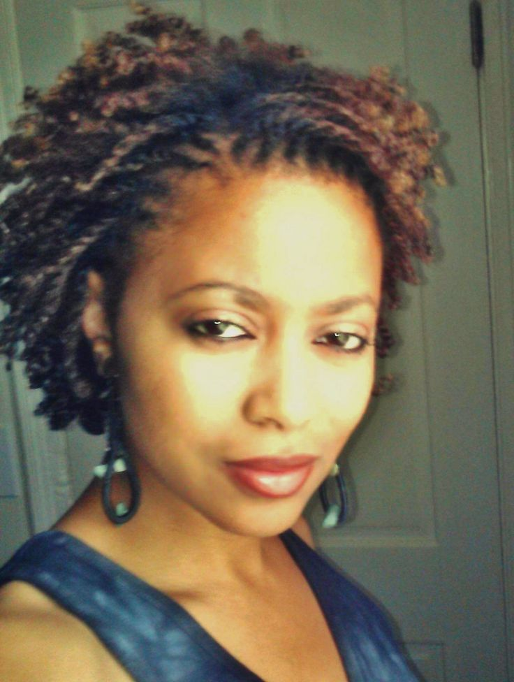 natural hair style, two strand twist