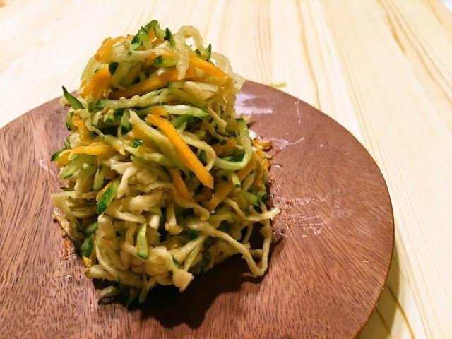 切干大根のあっさり中華サラダ