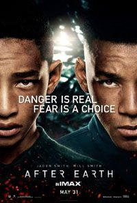 """AFTER EARTH - No better than Rebecca Black's """"Friday"""" video. It's a bought-and-paid-for vanity piece for a teenager who probably doesn't know any better. The only difference is that Rebecca Black's family did theirs for a limited audience before it went viral. It's a story conceived by a non-writer movie star, featuring nepotism casting for the lead with an actor who hasn't earned his stripes, directed by a guy who has become a joke in Hollywood."""
