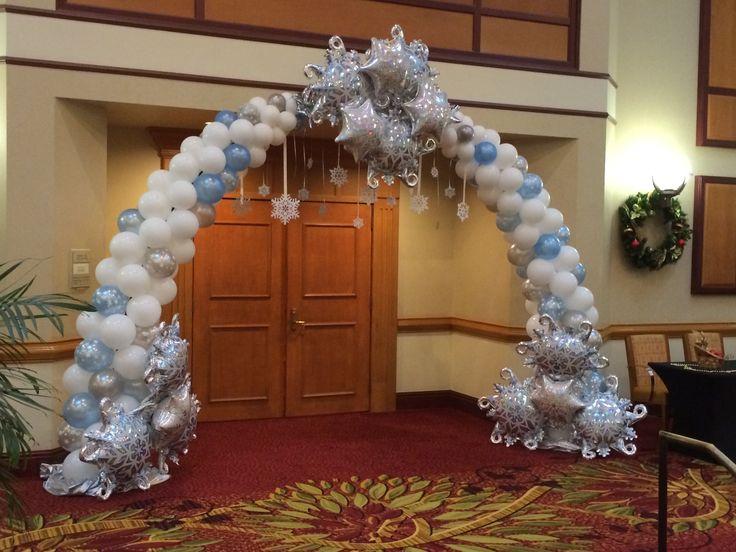 Best 25 frozen balloon decorations ideas on pinterest for Arches decoration ideas