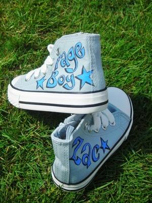 Page boy shoe idea