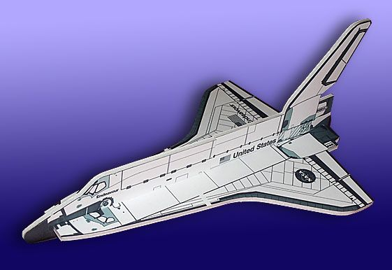 170 best images about space models paper craft on for Made and crafted shuttle