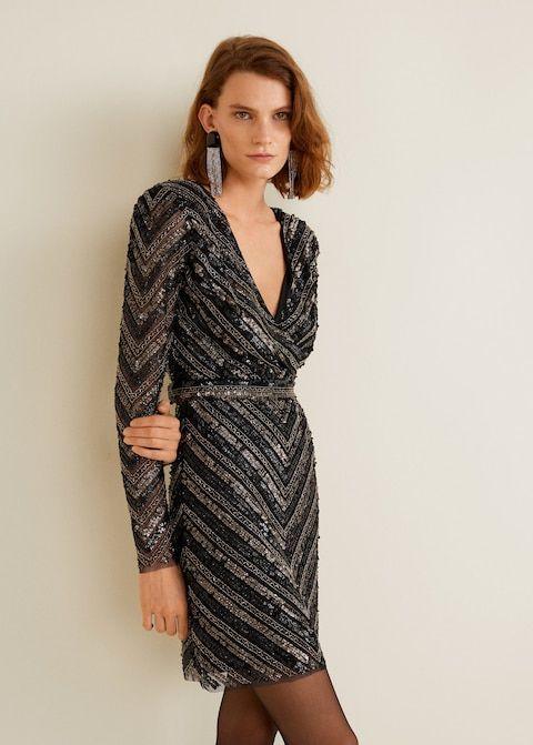 Robe 160€ France 2018Mango Repérage Fringues Pour Robes Femme OkZXPuiT