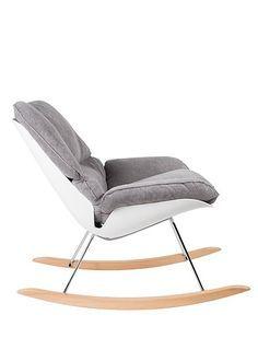 Zum Relaxen Ideal: Dieser Sessel Ist Lounge  Und Schaukelsessel In Einem.  Modernes Design