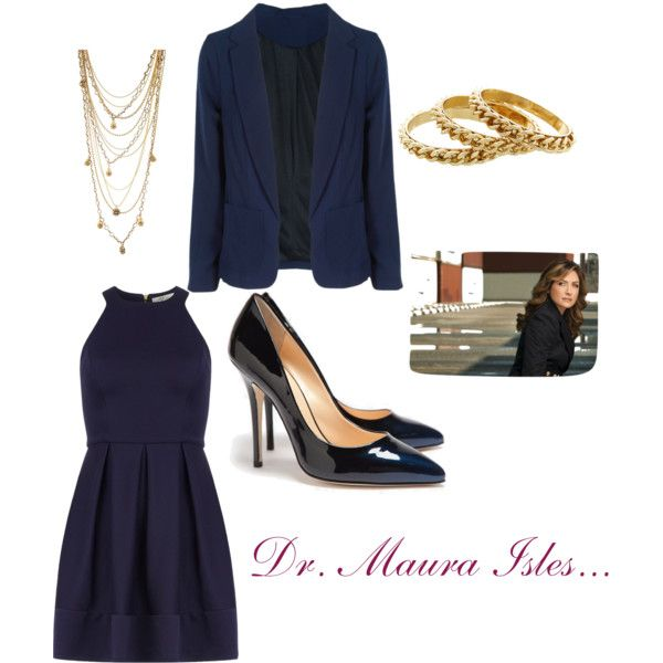 An outfit for Dr. Maura Isles from Rizzoli and Isles (Sasha Alexander)