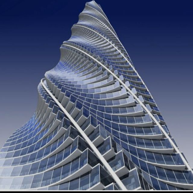 Chicago Spire, Chicago - Santiago Calatrava                                                                                                                                                                                 More