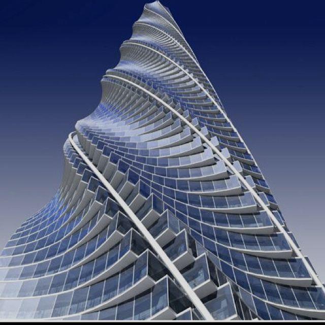 Chicago Spire, Chicago - Santiago Calatrava #architecture #spire