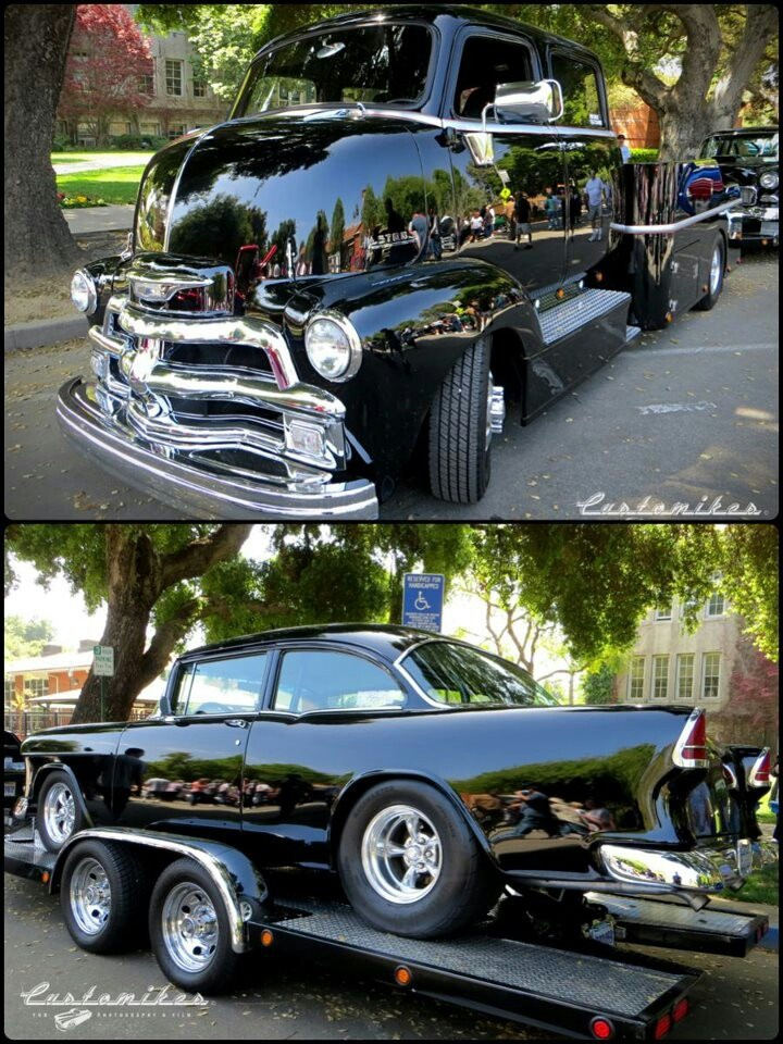 55 Chevy and COE