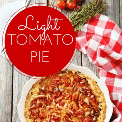 Paula Deen shared with Dr Oz how she lightened up her incredible tomato pie recipe, making a healthier but yet still just as delicious version of the dish.