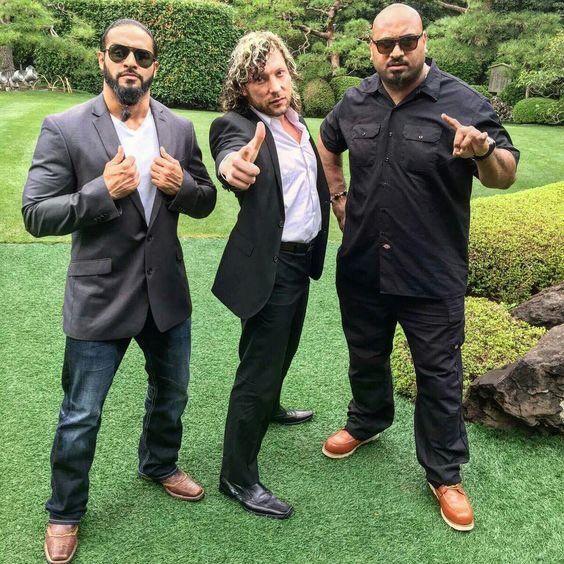 Tama Tonga, Kenny Omega, and Bad Luck Fale