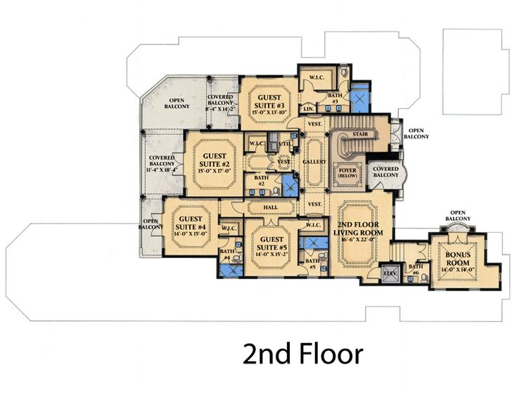 464 Best Floorplan Houses Images On Pinterest House Floor Plans - blueprints for homes in florida