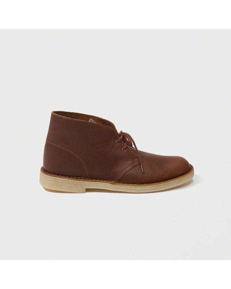A&F Men's Clarks Desert Boot in Brown - Size 11.5