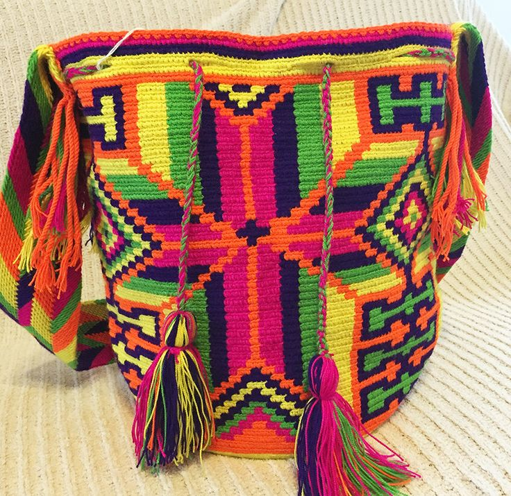 A personal favorite from my Etsy shop https://www.etsy.com/listing/217755907/wayuu-bag-mochila-hand-woven-ship