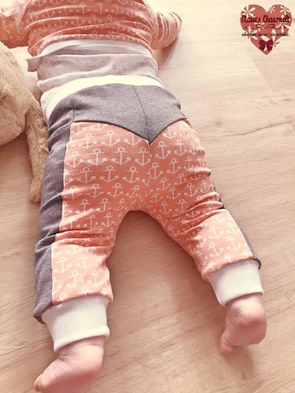 """Hose """"kleines Knöpfle"""" für Kinder mit den Größen 74-104 auch eine Puppengröße ist enthalten   – Sewing for babies"""