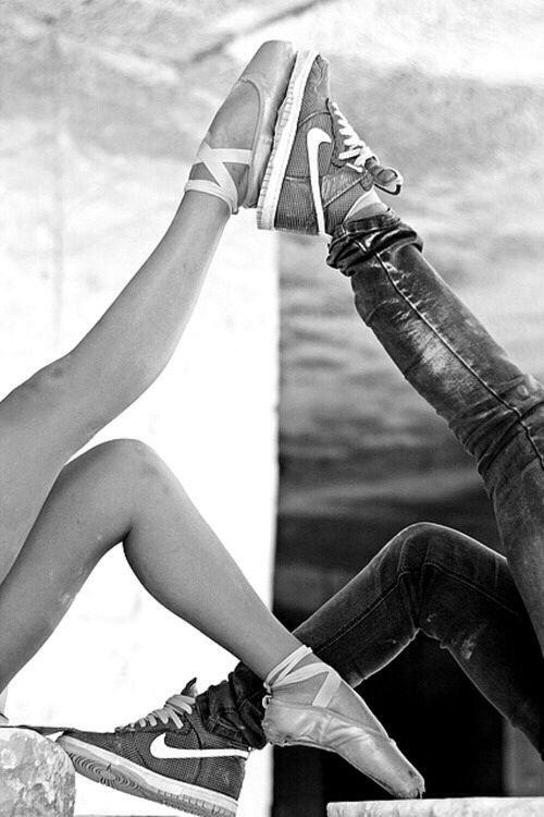Dancer girl sportly boy
