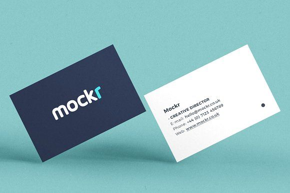 Realistic Business Card Mockup Psd Business Card Mock Up Business Cards Mockup Psd Mockup Psd