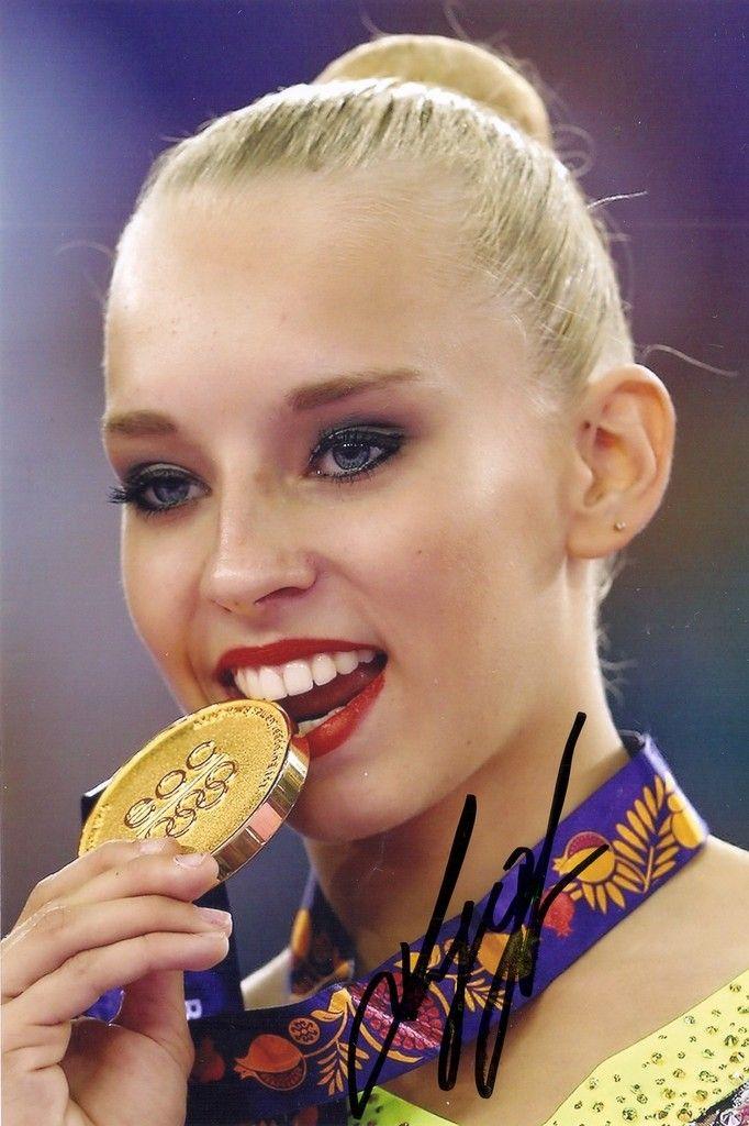 4x6 Yana Kudryavtseva  (Russia) autograph