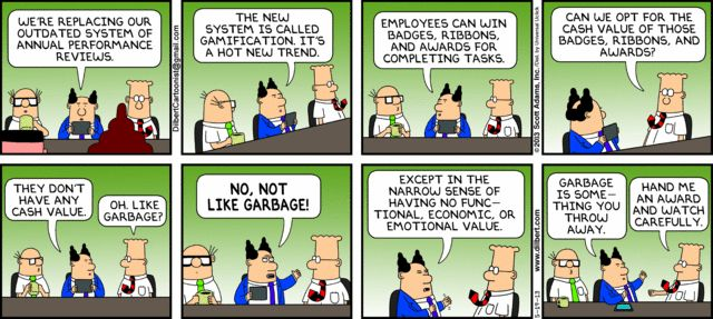 Dilbert on Gamification.