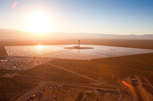 Ivanpah, BrightSource, Bechtel, Solar Thermal Energy, Solar Power, Solar Tower, Mojave, California Solar, Renewable energy
