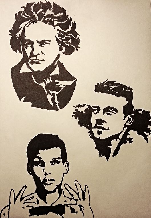 Pop Art of Beethoven, Macklemore and Stromae