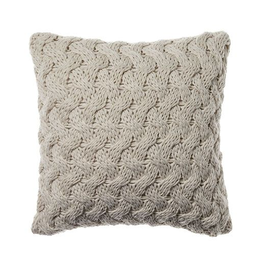 Metta Knit Cushion Natural