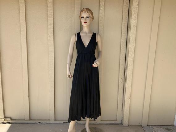 1970S Vintage Nylon Black
