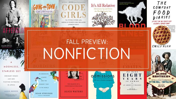 Fall 2017 Nonfiction Preview: Chez Panisse, Codebreaking, and New York City | Bookish