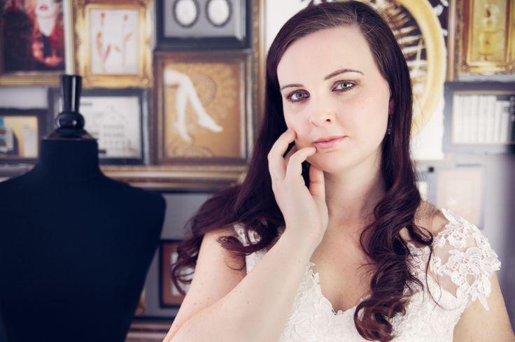 Bride, wedding dress, brunette, long hair, inspiration, wedding, hotel