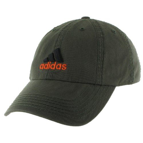 Black Friday adidas Men's Weekend Warrior Cap (EARTH GREEN/ORANGE/BLACK, One Size Fits All) from adidas Cyber Monday