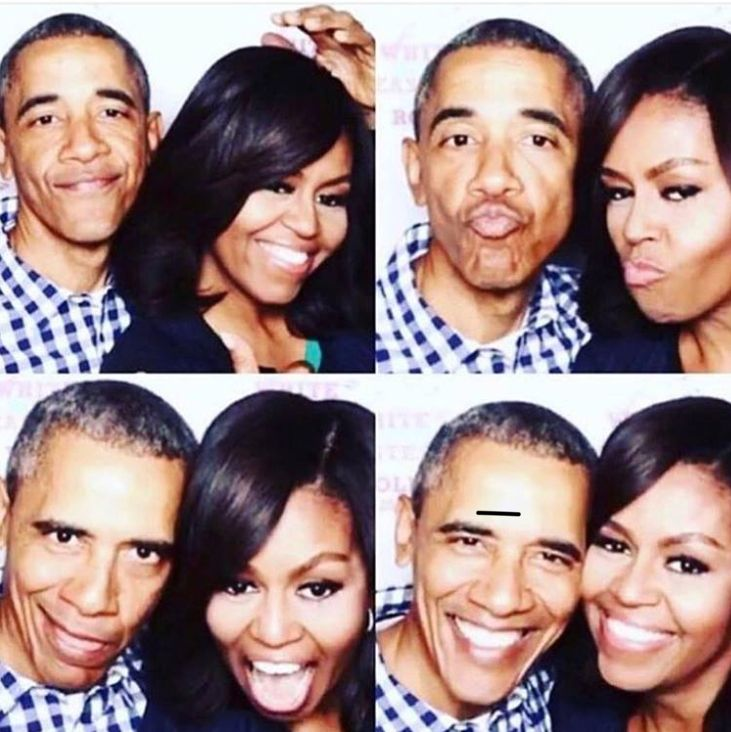 Couple goals!! #TheObamas