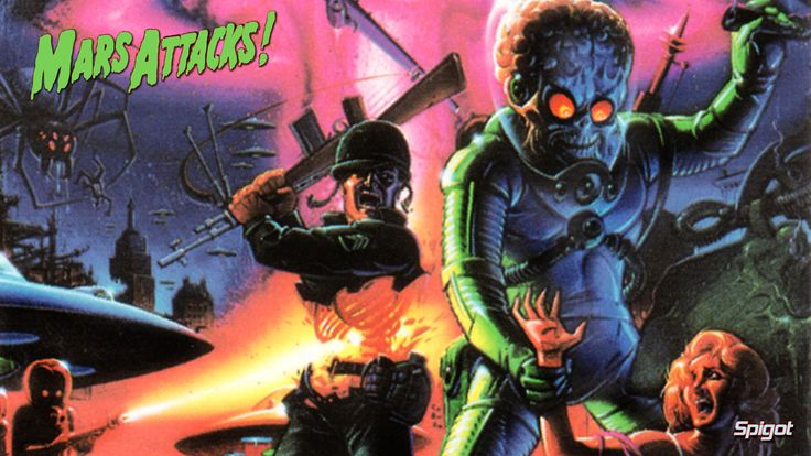 Mars Attacks Invasion | Mars Attacks Wallpapers