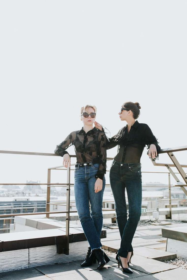 Photoshoot with the so stylish Parisian bloggers @FannyBF and @TheBrunette | Mandarin Oriental Hotel, Paris | Anne Fontaine