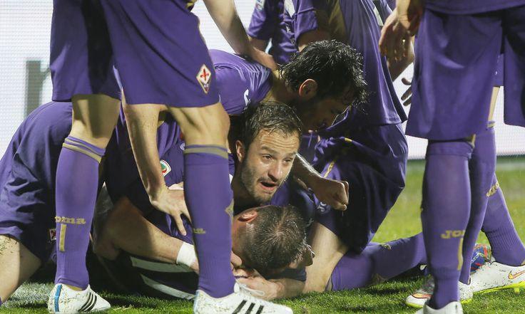 Fiorentina vendte 0-1 til 2-1 til sidst mod Milan!