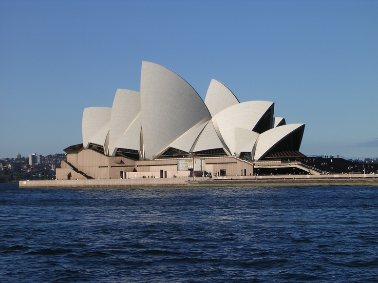 Sydney Opera House, designed by Danish architect Joern Utzon, completed in 1973, is a full scale performing arts venue