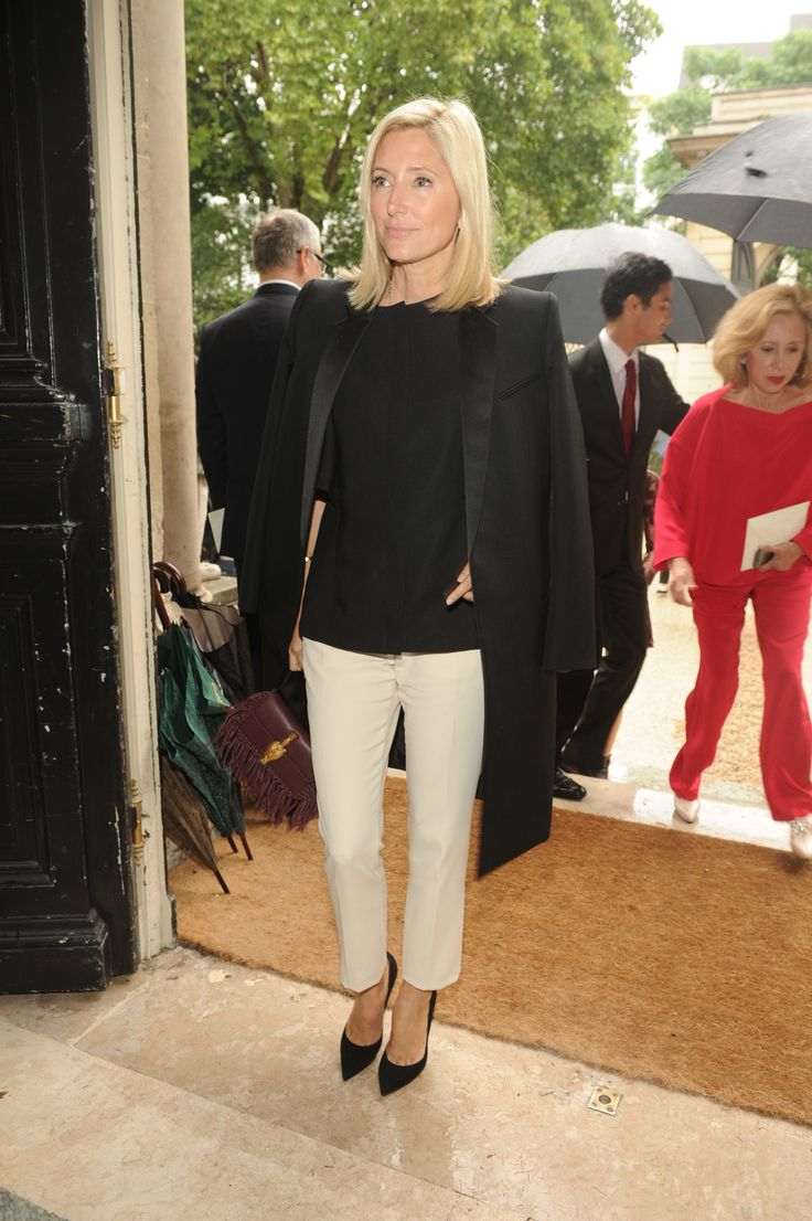 Marie Chantal of Greece at the Haute Couture Fall/Winter 2014-15 show in Paris, the 9th of July 2014