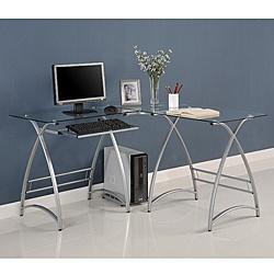 desk as you work Desk features a modern design Home office furniture