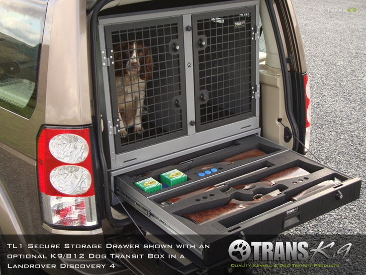 Landowner Garage In A Box : Transk b dog cage transit box crate for land
