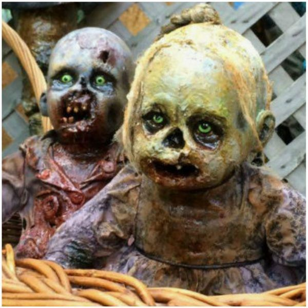 an artist made life size zombie baby prop unique one of a - Zombie Props